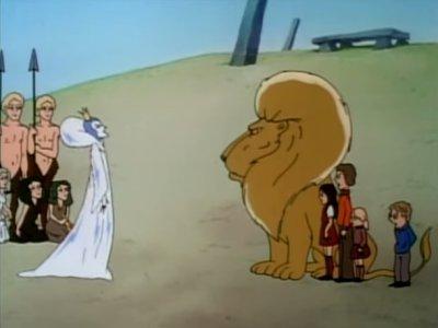 Dessins animés : Le lion, la sorcière blanche et l'armoire magique (Les Chroniques de Narnia)