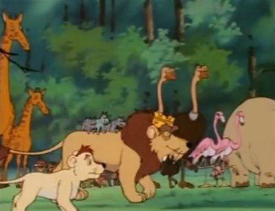 Dessins animés : Léo le Lion, Roi de la Jungle