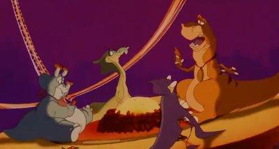 Dessins Animés : Les quatre dinosaures et le cirque magique