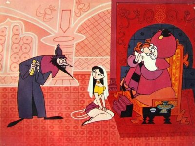 Dessins animés : Les Aventures d'Aladin