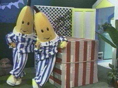 Dessins animés : Les Bananes en pyjama