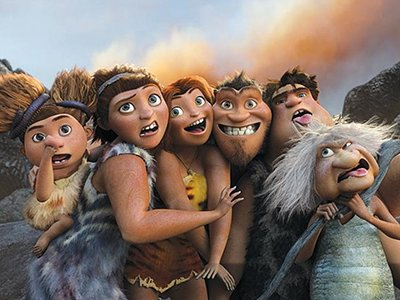 Dessins Animés : Les Croods