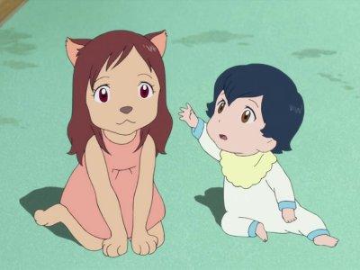 Dessins animés : Les Enfants loups Ame et Yuki