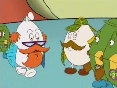 Dessins animés : Les Globulyss (Voyage au cœur de la vie)