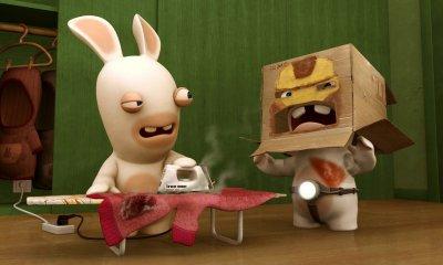 Dessins animés : Les Lapins Crétins