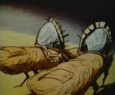 Dessins animés : Les Mutants de l'espace