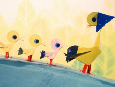 Dessins animés : Les Petits Canards Intelligents