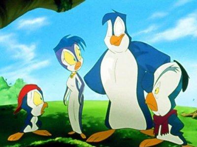 Dessins animés : Les pingouins à la rescousse