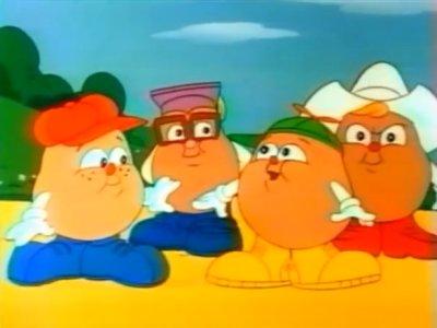 Dessins animés : Les Potatous