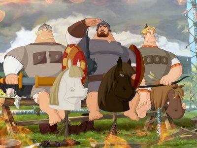 Dessins animés : Les Trois Bogatyrs (Три богатыря)
