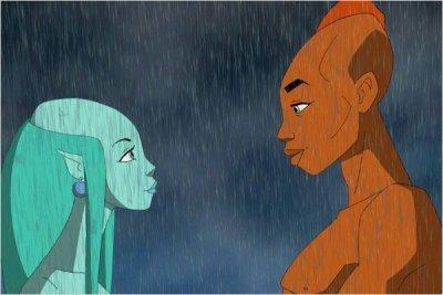 Dessins animés : Les enfants de la pluie