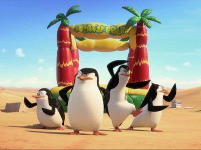 Dessins animés : Les pingouins de Madagascar