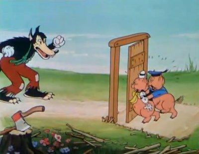 Dessins animés : Les trois petits cochons (Silly Symphonies)