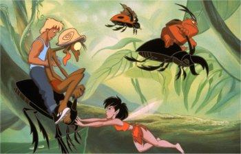 Dessins Animés : Les Aventures de Zak et Crysta dans la forêt de FernGully