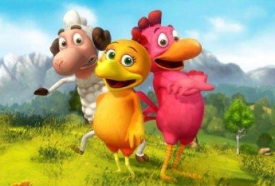 Dessin Animé Poule les p'tites poules - 2012 - dessins animés - alwebsite