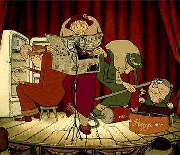 Dessins animés : Les triplettes de Belleville
