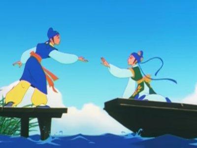 Dessins animés : Ling et Tao, la légende des amoureux papillons