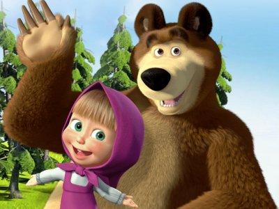 Dessins animés : Macha et l'ours (Masha et Michka)