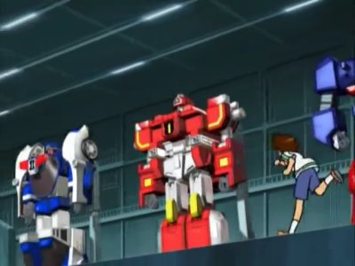 Dessins animés : Machine Robo Rescue