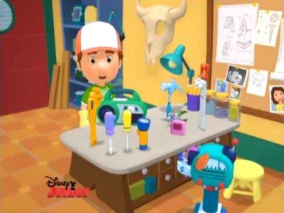 Dessins animés : Manny et ses outils