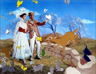 Dessins animés : Mary Poppins