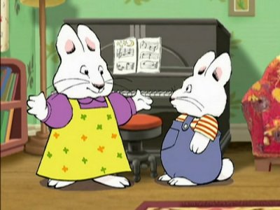 Dessins animés : Max et Ruby