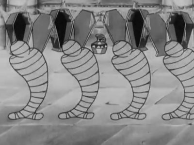 Dessins animés : Mélodies égyptiennes (Silly Symphonies)