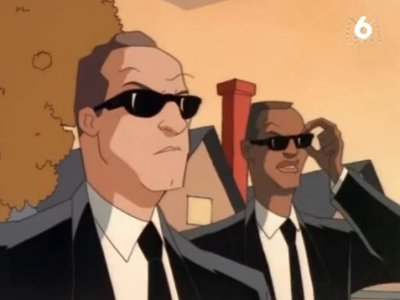 Dessins animés : Men in black