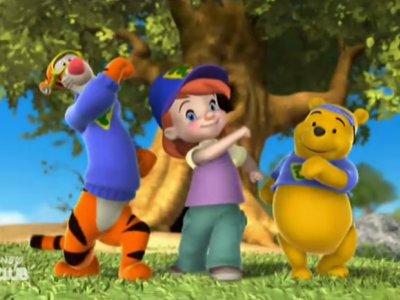 Dessins Animés : Mes amis Tigrou et Winnie