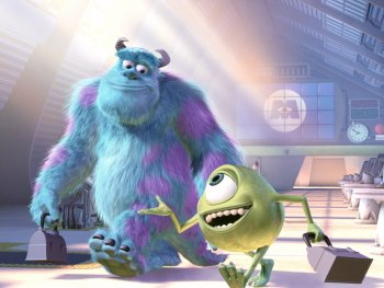 Dessins animés : Monstres & Cie (Monsters, Inc. - Pixar)
