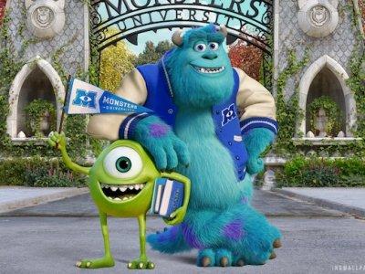 Dessins animés : Monstres Academy (Pixar)