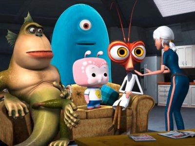 Dessins animés : Monstres contre Aliens