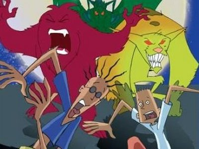 Dessins animés : Monstres en série