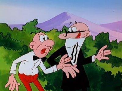 Dessins animés : Mort et Phil