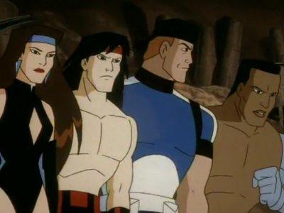 Dessins Animés : Mortal Kombat : les gardiens du royaume