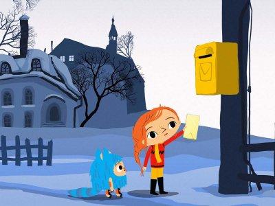 Dessins animés : Myrtille et la lettre au Père Noël