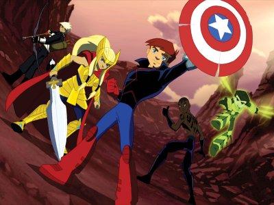 Dessins Animés : Next Avengers