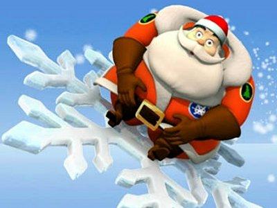 Dessins animés : On doit attraper le Père Noël