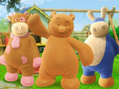 Dessins animés : Nouky et ses amis (Paco, Nouky et Lola)