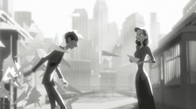Dessins Animés : Paperman