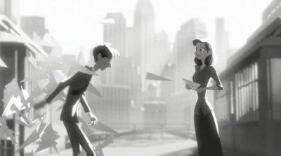 Dessins animés : Paperman