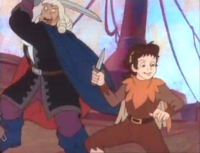 Dessins Animés : Peter Pan et les Pirates