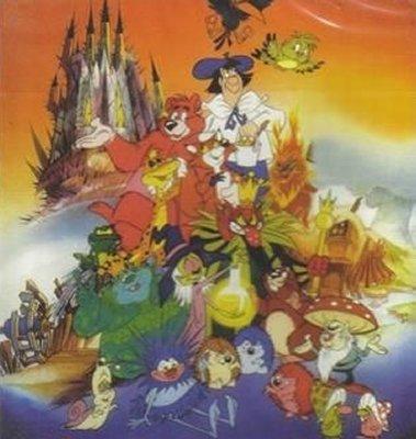 Dessins animés : Peter et la forêt magique
