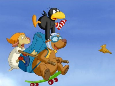 Dessins animés : Petit Corbeau