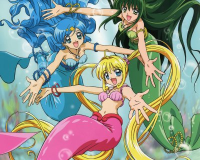 Dessins animés : Pichi Pichi Pitch, la mélodie des sirènes (Mermaid Melody)