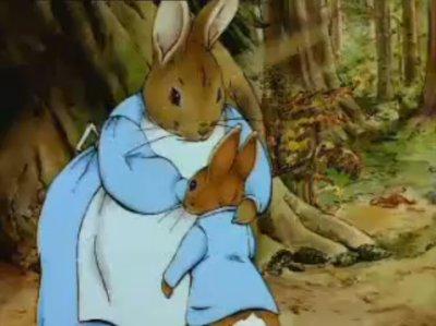 Dessins animés : Les histoires de Beatrix Potter (Pierre Lapin, Le Tailleur de Gloucester ...)