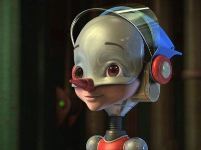 Dessins animés : Pinocchio le robot