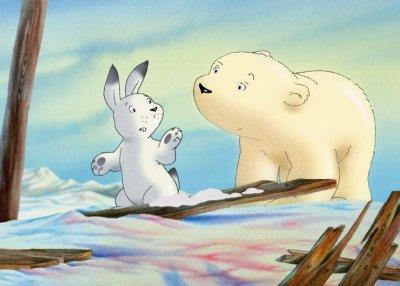 Dessins animés : Plume petit ours polaire