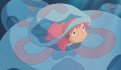 Dessins animés : Ponyo sur la falaise