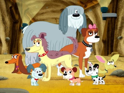 Dessins animés : Pound Puppies